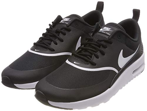 Nike Damen Air Max Thea Sneakers, Schwarz Black White 028, 39 EU