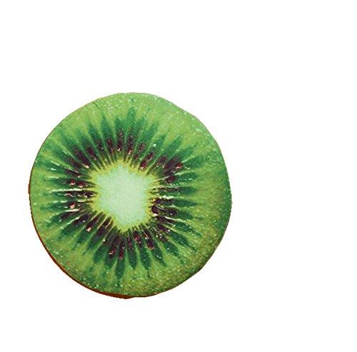 Demarkt Fruchtkissen Obstkissen Frucht Sitzkissen Stuhlkissen Sitzauflage Dekokissen Kiwi Stil