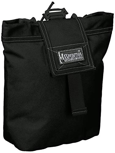 Maxpedition Sac Pliable Rollypoly, Faltbeutel Rollypoly, Schwarz, Taille Unique