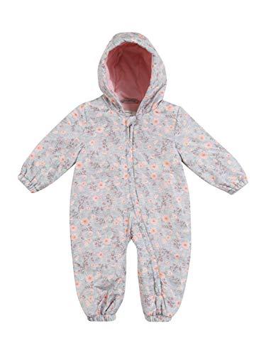 NAME IT Baby-Mädchen NBFMATILDA Suit Schneeanzug, Grey Melange, 74-80