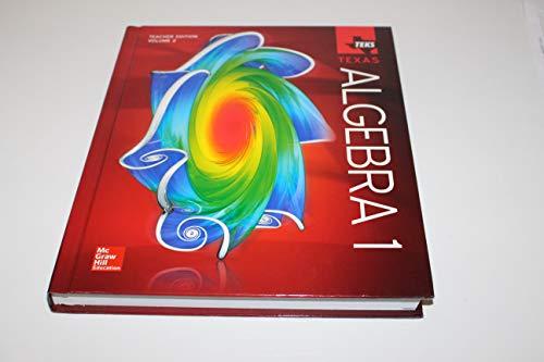 Teks Texas Algebra 1 Teachers Edition Volume 2