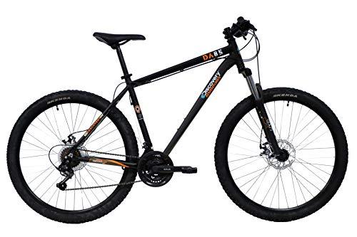 Mountain bike Discovery 27,5'' con forcella ammortizzata, freni a disco e cambio Shimano, nero