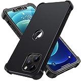 ORETECH Coque Compatible avec iPhone 12 et iPhone 12 Pro, avec 2 x Protecteur D'écran en Verre...