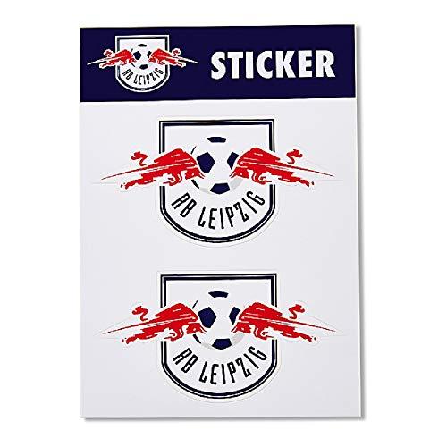 RB Leipzig Multi Sticker Set, Weiß Unisex One Size Aufkleber, RasenBallsport Leipzig Sponsored by Red Bull Original Bekleidung & Merchandise