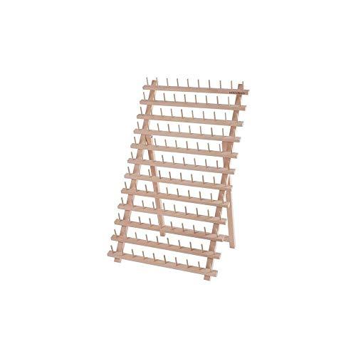 MILWARDS - Soporte para 120 carretes (Madera de Haya, 34 x 40)