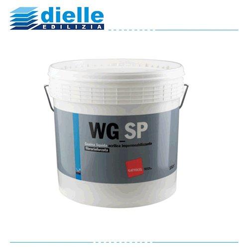 WG_SP GATTOCEL LT.2,5 GRIGIO, guaina liquida acrilica impermeabilizzante fibrorinforzata