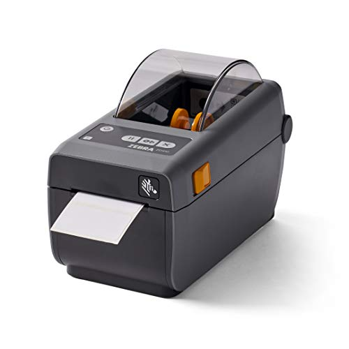 ZEBRA ZD410 Direct Thermal Desktop Printer Print Width of 2 in USB Ethernet Connectivity ZD41022-D01E00EZ