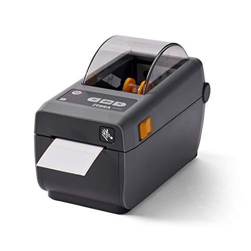 ZEBRA ZD410 Direct Thermal Desktop Printer Print Width of 2 in USB Ethernet Connectivity ZD41022-D01E00EZ
