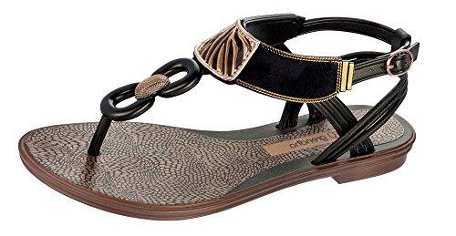 Grendha Exotic Sandal Sandales Femmes - Noir-BLACK-37