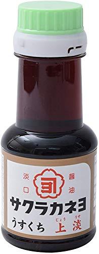 吉村醸造 サクラカネヨ 上淡 醤油 110ml ×3本
