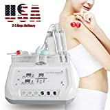 genmine 4 in 1 Diamond Micro Dermabrasion Peeling Machine Skin Scrubber Multifunctional Skin Lifting Wrinkles Remove Beauty Salon Massage Machine Ship from USA 2-5 Days Delivery
