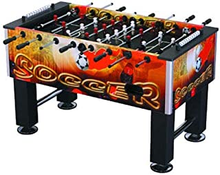 Marshal Fitness 4067 Fosstable Soccer Arcade Game Baby Foot Game Table, Multicolor