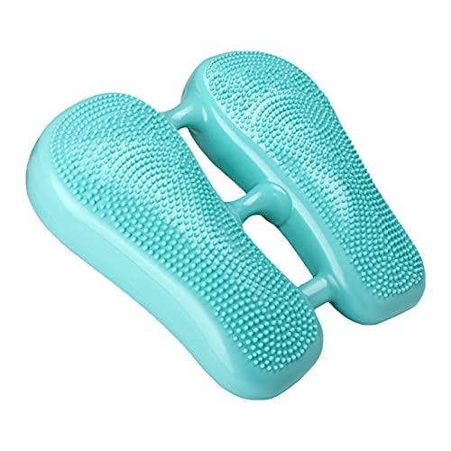 XIAMUSUMMER Mini Ejercicio Paso a Paso - Ejercitador de Pedal Debajo del Escritorio - Peddle Plegable - Máquina elíptica de pie portátil - Gimnasio Stepper masajeable para Entrenamiento en casa