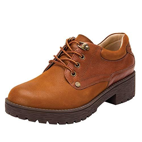 Alegria Cheryl Womens Hiker Fashion Shoe Cognac 10 M US