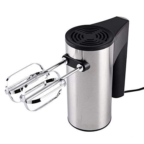 YIHE Elektrischer Handmixer – Handrührer 300W mit 5 Geschwindigkeiten inkl. Turbofunktion Edelstah mit 2 Schneebesen & Knethacken aus Zum Backen, Kuchen und Kochen,Auswurftaste,leicht zu reinigen