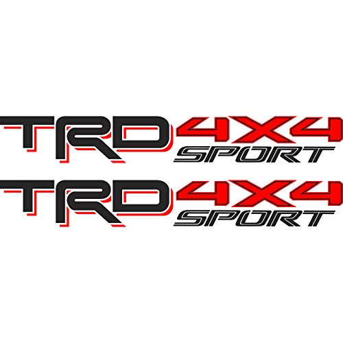 Toyota TRD Sport 4x4 Compatible with Toyota Tacoma Tundra Sticker Decal 01