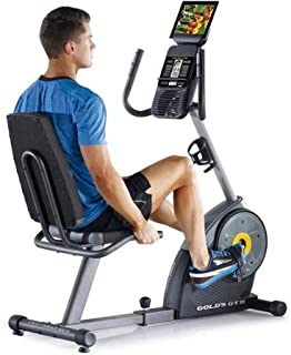 Gold`s Gym Cycle Trainer 400 Ri Exercise Bike with iFit Bluetooth Smart Technology