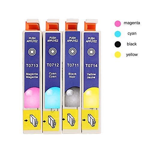 Cartuchos de Tinta Multipack genuinos T0715 para Epson T0711