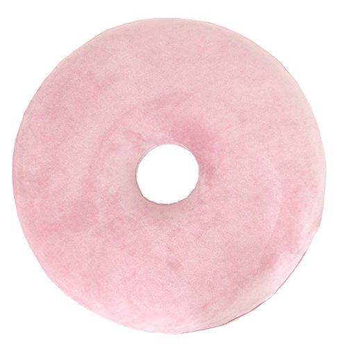 メリーナイト 低反発 円座クッション 「もちとろん」 直径約40�p ピンク MTR1001-16