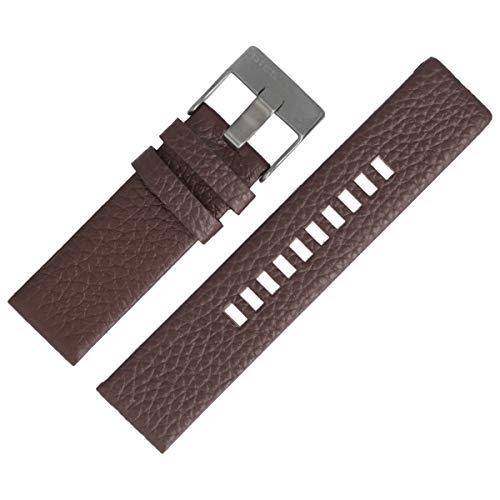 Diesel Uhrenarmband 24mm Leder Braun - DZ-1467