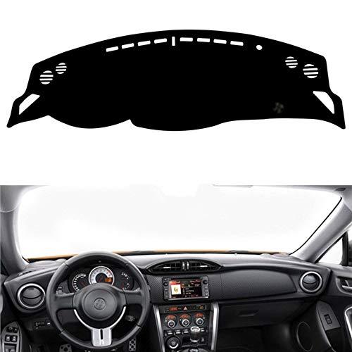 LYSHUI Armaturenbrett Abdeckung Armaturenbrett Pad Sun Shade Instrument Teppich Autozubehör, für Toyota 86 GT86 FT86 Scion FR-S Subaru BRZ 2012-2019