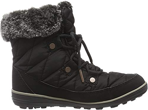 Columbia Heavenly Shorty Omni-Heat, Botas de Invierno para Mujer, Negro (Black, Kettle), 41 EU