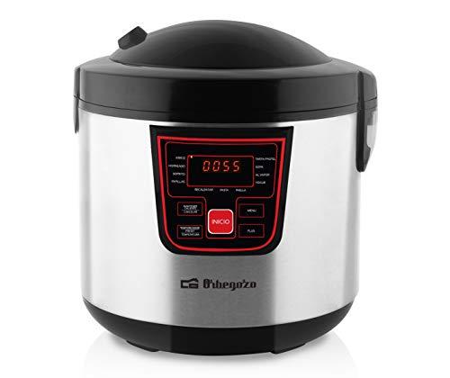 Orbegozo MCP 6000 - Máquina de cocinar programable, 11 programas, pantalla LCD,...