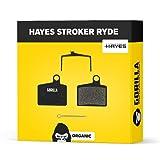 Hayes Pastillas de Freno Stroker RYDE RYDE Comp & Radar para Freno de Disco Bicicleta I Orgánico I Alto Rendimiento I Durable & Ajuste Pastillas de Freno Bicicleta