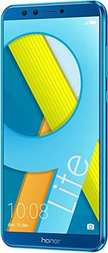 Honor 9 Lite Smartphone, Schermo 5.65' FHD+, 4 GB RAM, Doppia Fotocamera 13 e 2 MP, 64 GB, Blu [Italia]