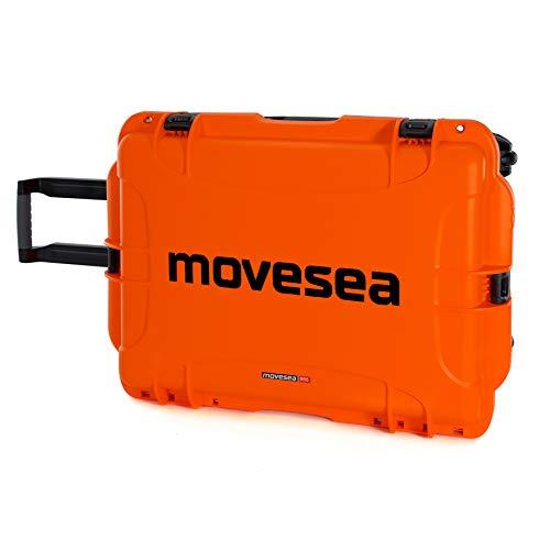 Professioneller Koffer mit Rädern für Unterwasserdrohne FIFISH V6 und FIFISH V6S Orange MOVESEA 846930