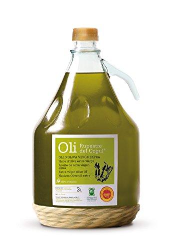 Aceite de Oliva virgen extra - Denominación de origen protegida Les Garrigues - Garrafa vidrio 3 L