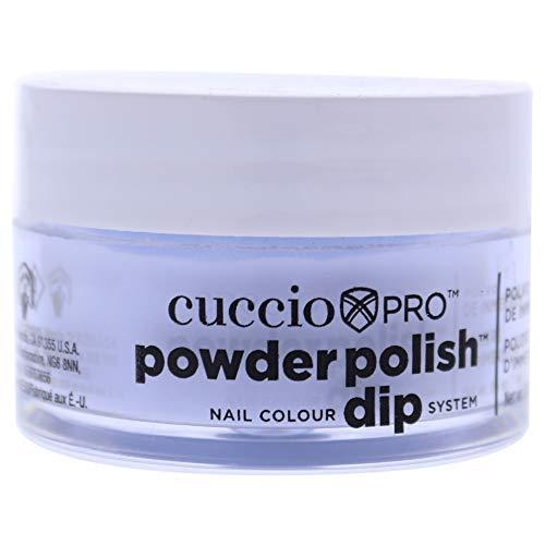 Cuccio Pro Powder Polish Nail Color Dip System Peppermint Pastel Blue For Women Poudre d'Ongle 0.5 oz