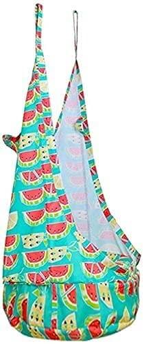 YGCBL Silla de columpio para niños de tela de lona creativa para interior y exterior, silla de columpio segura y cómoda