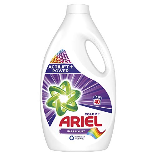 Ariel Color Flüssigwaschmittel Farbschutz (2,2l), 1er Pack (1 x 40 Waschladungen)