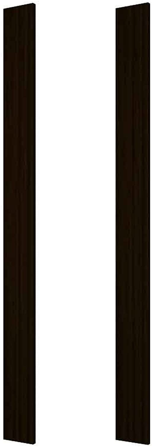 (Rustic Pine, Without Lacquer Finish, Dark Walnut Stain) - Wine Cellar Innovations DPI-DW-FILL6-A3 Designer Series Wine Rack, Rustic Pine, Without Lacquer Finish, Dark Walnut Stain