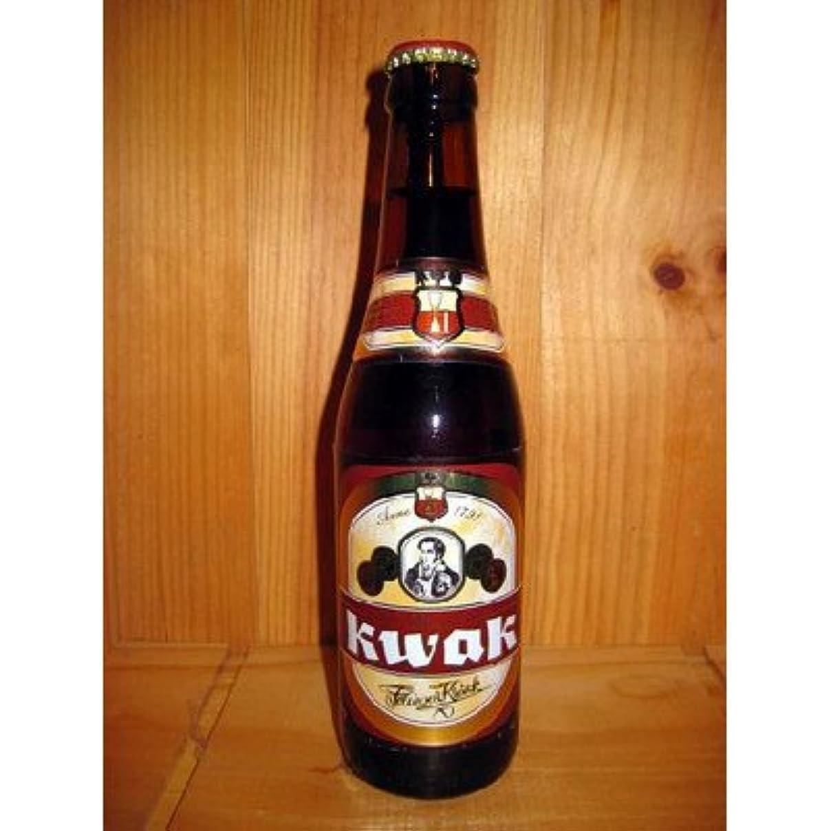 クロス公然と愛撫ベルギービール パウエル クワック330ml