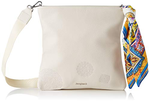 Desigual PU Across Body Bag, Donna, Bianco, U