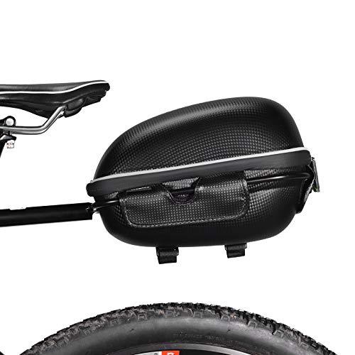 ROCKBROS Bolsa Trasera de Asiento con Portaequipajes para Bicicleta Impermeable Con Liberación...