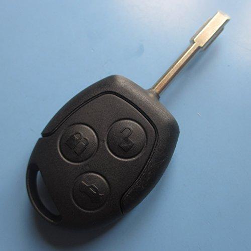 Ersatz Schlüssel Gehäuse, Taste, Auto Schlüssel, Flip, Schlüsselrohling, Fernbedienung, Transmitter Key, Autoschlüsselanhänger, Gehäuse ohne Elektronik, INION®.