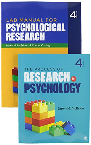 BUNDLE: McBride: The Process of Research in Psychology, 4e (Paperback) + McBride: Lab Manual for Psy