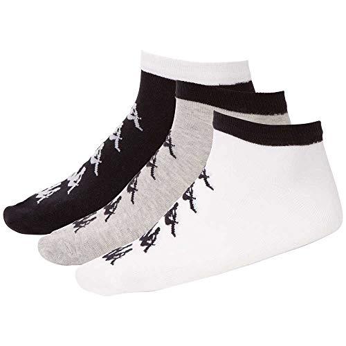 Kappa Authentic EVILIO 3 Socken, Grey Melange, 39-42