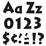 Trend Enterprises Black 4' Venture Uppercase/Lowercase Comboready Letters (T-79290)