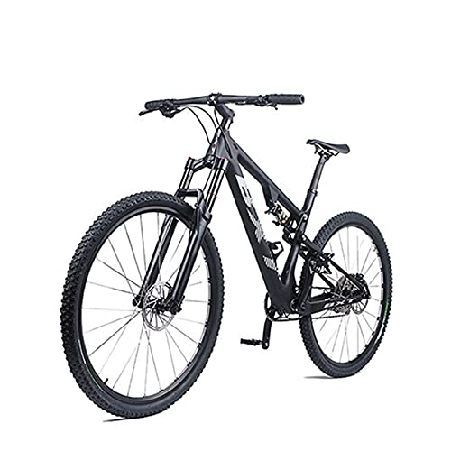 Story Sospensione Completa Mountain Bicycle T800 Carbon MTB Bike 11Speed Carbon S/M/L/XL Bike Frame Completa Bike 29 * 2.1'Ruota (Color : 142x12 M Glossy)
