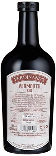 Ferdinand's Red Vermouth auf Basis deutschen Rieslings (1 x 0,5 l) - 2