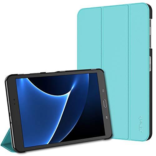 JETech Hülle für Samsung Galaxy Tab A 10,1 2016 (T580 / T585, Nicht für Modell 2019), Schutzhülle mit Ständer Funktion und Auto Schlaf/Wachen, Blau