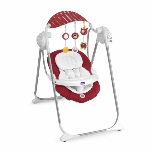Chicco 07079110300000 - Altalena Polly Swing Up Scarlet