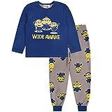 Pijama Azul Oscuro con pantalón Largo 18-24 Meses