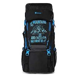 Impulse Waterproof Travelling Trekking Hiking Camping Bag Backpack Series 55 litres Blue Mt Calling Rucksack,Envision Entertainment,Mt. Calling 55 Litres Blue,Blue,Impulse,Impulse Blue,Impulse Blue LUGGAGE,Impulse JMD 55 Litres Blue LUGGAGE,Impulse LUGGAGE,Impulse LUGGAGE Blue,Impulse Rucksack,JMD 55 Litres Blue,LUGGAGE,Rucksack,backpacks for men