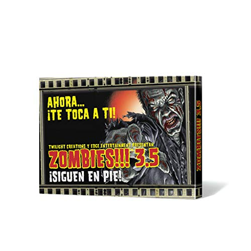 Edge Entertainment- Zombies. 3.5: ¡siguen en pie. - español, Color (EDGTC35)