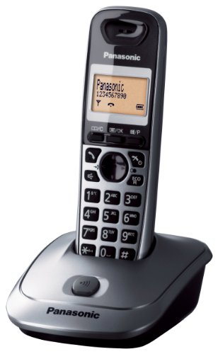 Panasonic KX-TG2511 Telefoni domestici, Grigio Metallico